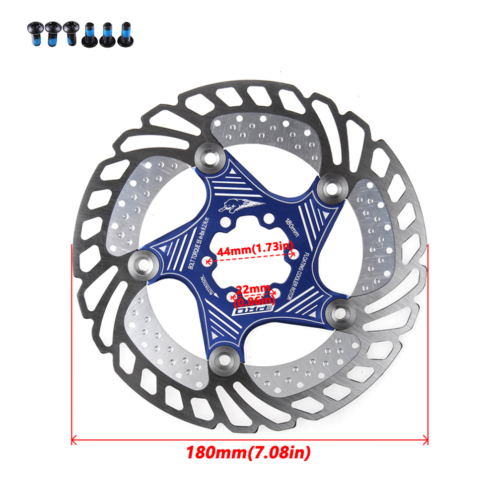 ZTTO MTB Mountain bike Brake Disc Floating Rotor 140//160180//203mm with T25 Bolts